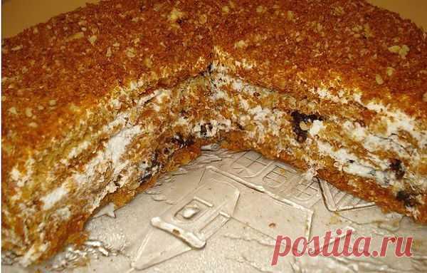 """Медовый торт """"Особенный"""". Самый вкусный на свете медовик!"""
