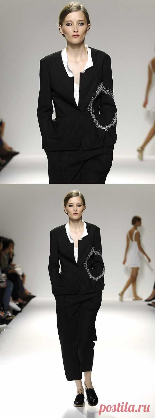 Декор жакета бисером / Декор / Модный сайт о стильной переделке одежды и интерьера