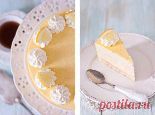 Лимонный торт.