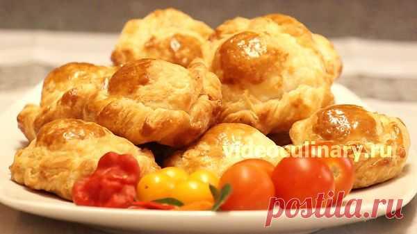 Пирожки с мясом - Видеокулинария.рф - видео-рецепты Бабушки Эммы