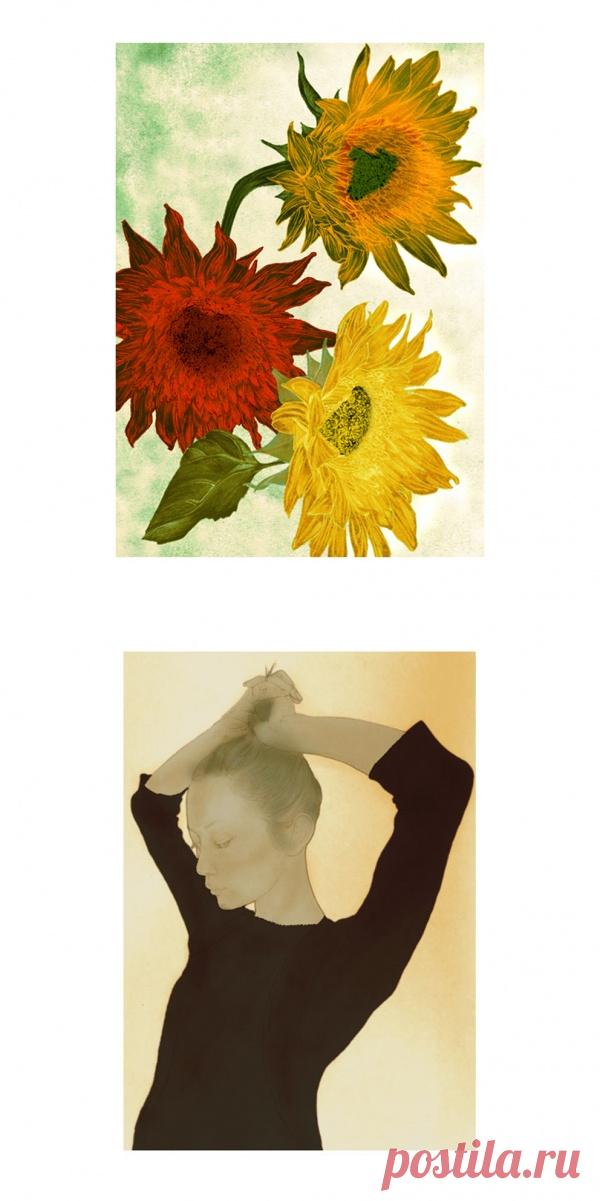 Artworks by Hiroshi Goto (61 работ) » Картины, художники, фотографы на Nevsepic