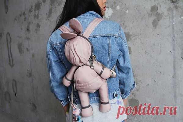 Рюкзак Stella McCartney x Lе Coq Sportif / Сумки, клатчи, чемоданы / Модный сайт о стильной переделке одежды и интерьера
