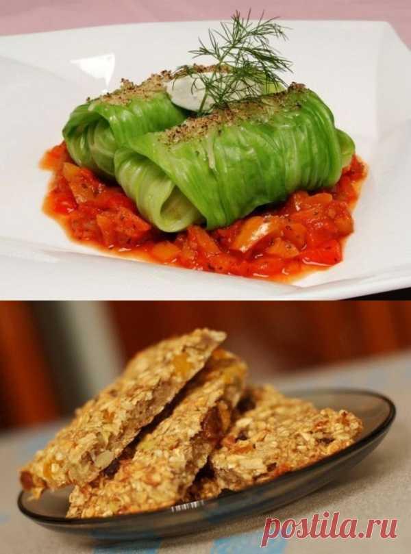 Два вкусных постных блюда: постные голубцы и батончики-мюсли (для получения рецепта нажмите 2 раза на картинку)