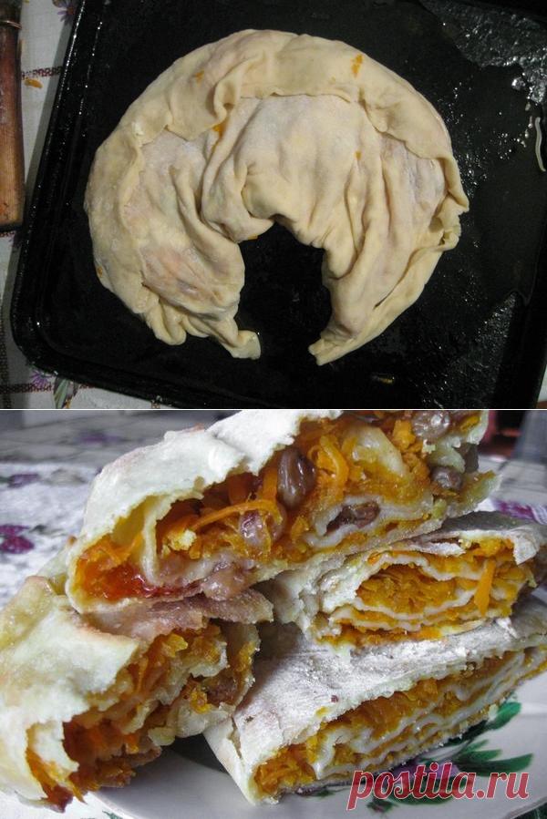 Болгарская милина с тыквой: пошаговый рецепт пирога