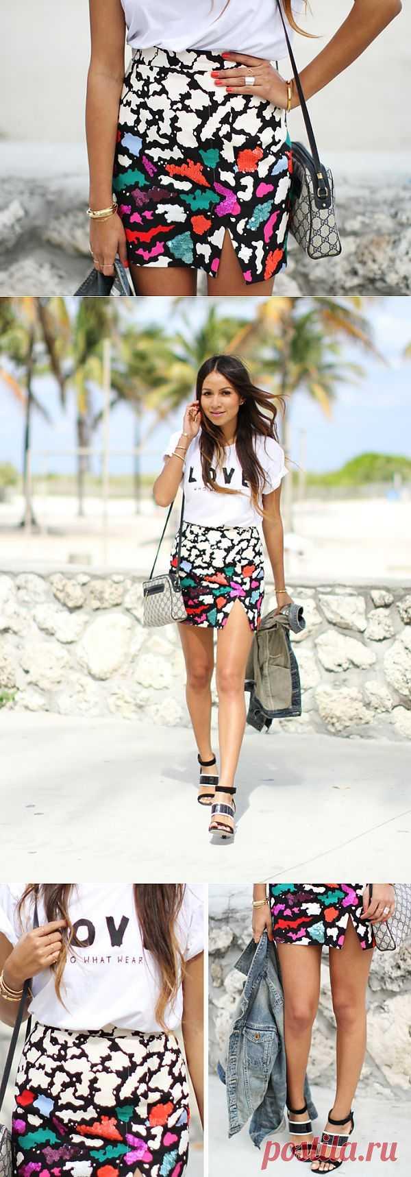 Идея переделки юбки / Юбки и их переделки / Модный сайт о стильной переделке одежды и интерьера