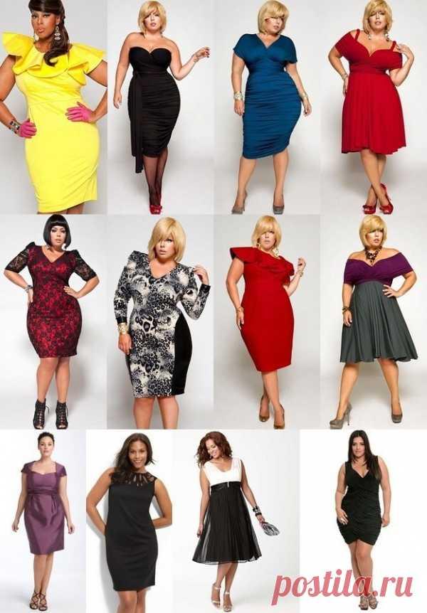 Вечерние платья для шикарных женщин!