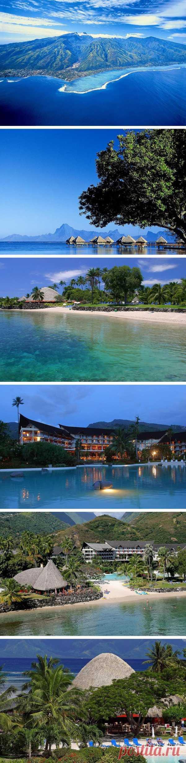 Прикоснуться к кусочку девственной, первозданной природы. Остров Таити, Французская Полинезия
