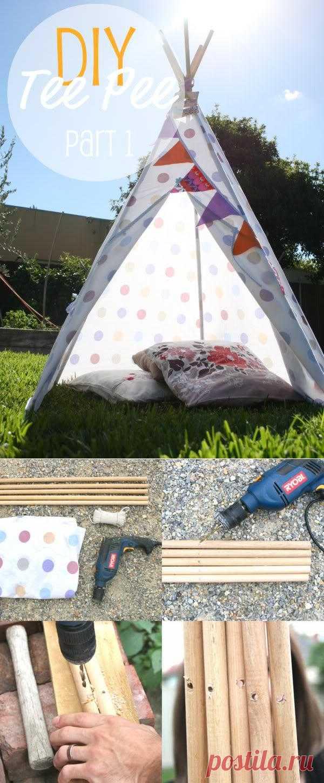 Индейская палатка своими руками