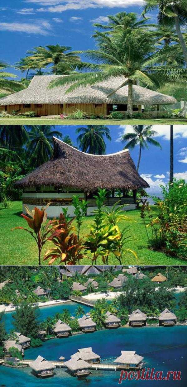 Бунгало на острове Муреа - райский уголок. Один из самых красивых островов Французской Полинезии. Его пляжи с белым песком, богатство кораллового дна, красота пейзажей и лагуны, разнообразие водных и наземных развлечений привлекают сюда множество путешественников.