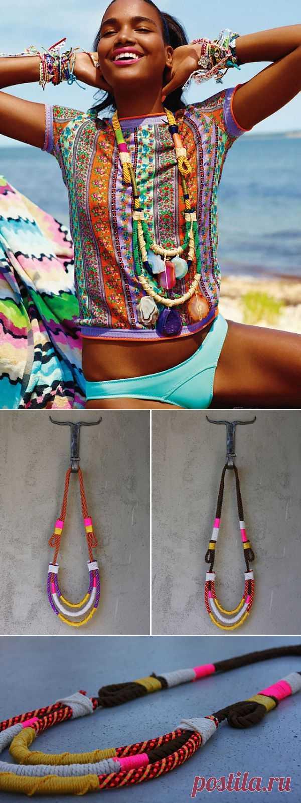 Абсолютная Африка (мастер-класс) / Украшения и бижутерия / Модный сайт о стильной переделке одежды и интерьера