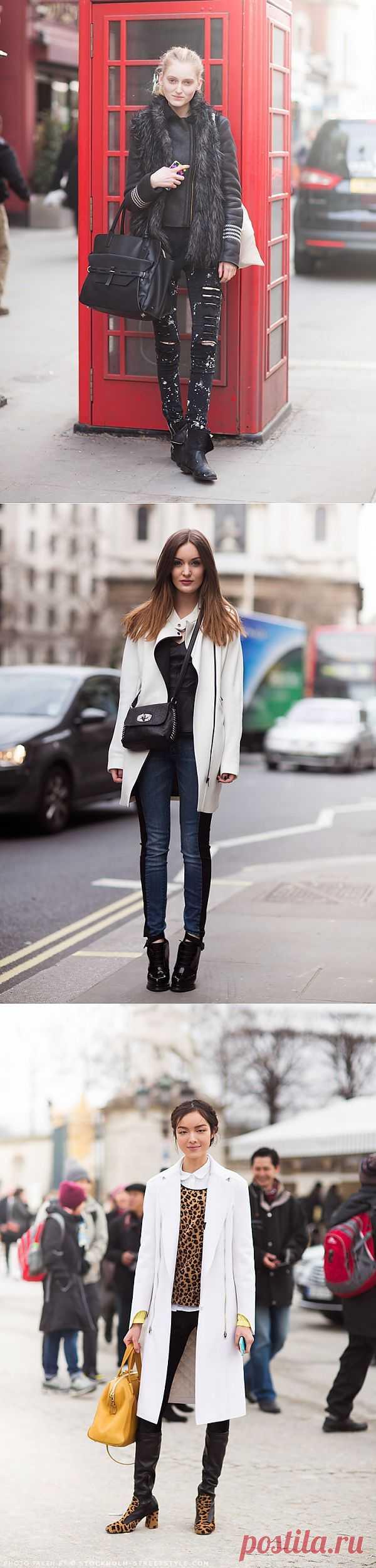 Street Style (подборка) / Street Style / Модный сайт о стильной переделке одежды и интерьера