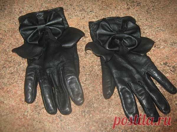 Новая жизнь старым перчаткам (Diy) / Перчатки и варежки / Модный сайт о стильной переделке одежды и интерьера
