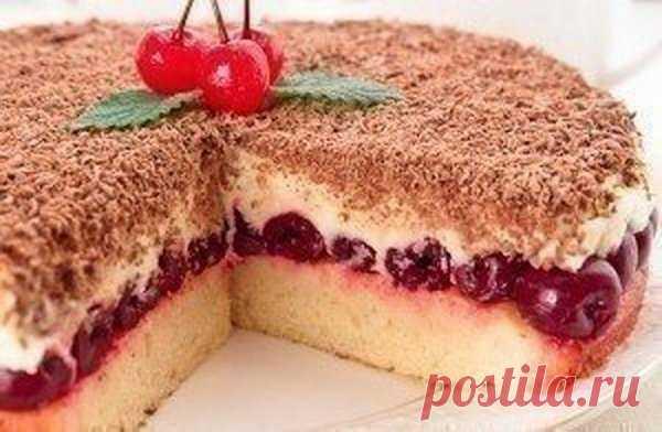 Любимый пирог с вишней