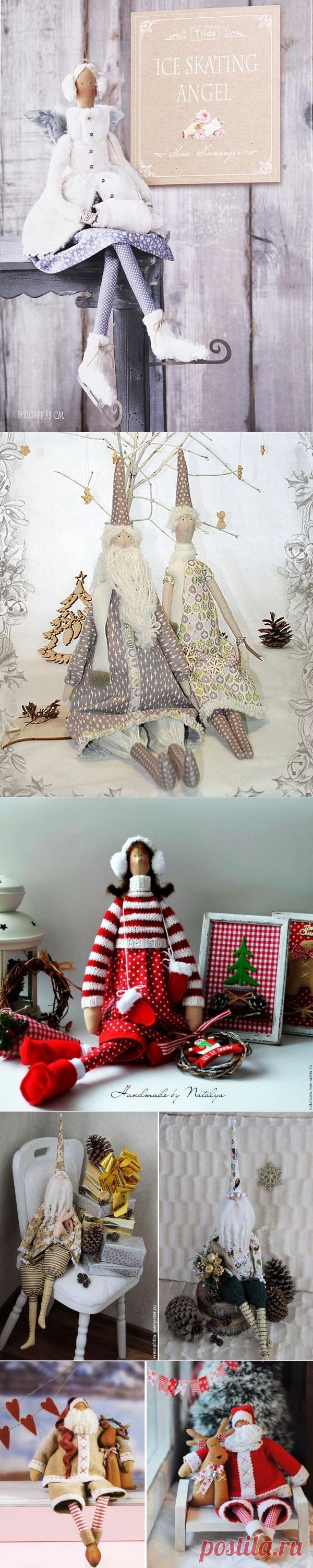 Patterns of New Year's dolls | all DOLLS