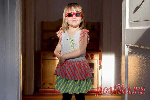 Платье из майки (DIY) / Для детей / Модный сайт о стильной переделке одежды и интерьера