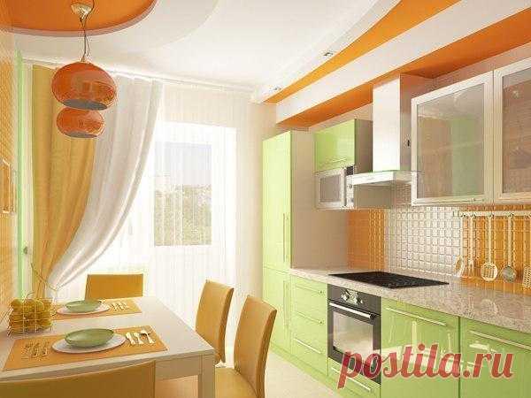 Весенний дизайн кухни.