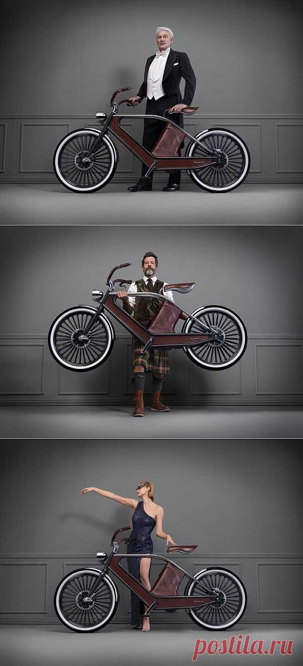Велосипед для светских раутов / Авто Мото Вело / Модный сайт о стильной переделке одежды и интерьера