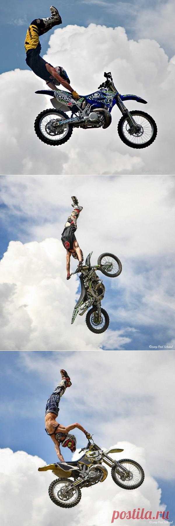Полеты на мотоциклах не во сне, а наяву