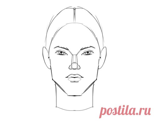 Старайтесь рисовать четкие грани — через углы, а не через прямые линии.