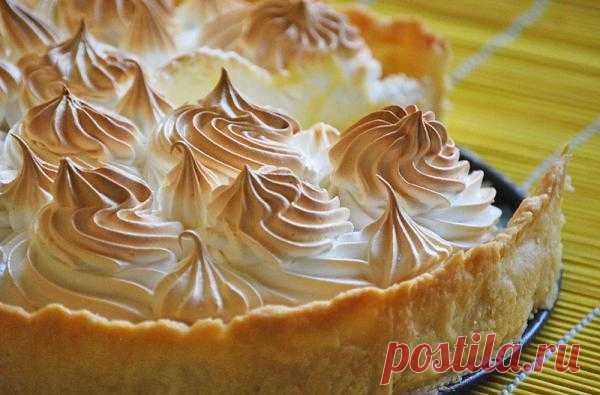 Лимонный пирог с меренгой - Рецептам.net