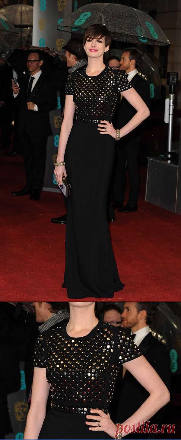 Платье Энн Хэтэуэй / Звездный стиль / Модный сайт о стильной переделке одежды и интерьера