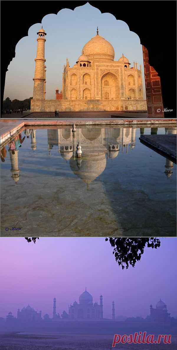 Тадж-Махал, седьмое чудо света | Живой фотоблог