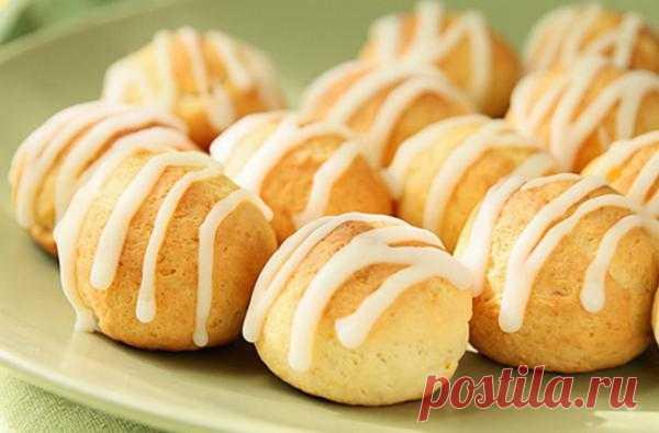 Печенье творожно-лимонное.