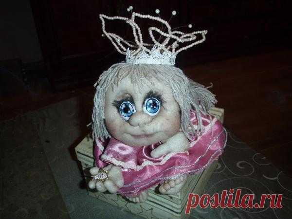 Моя первая кукла - удачи. Комментарии