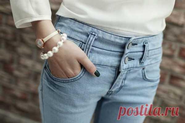 Талия, подъем! / Переделка джинсов / Модный сайт о стильной переделке одежды и интерьера