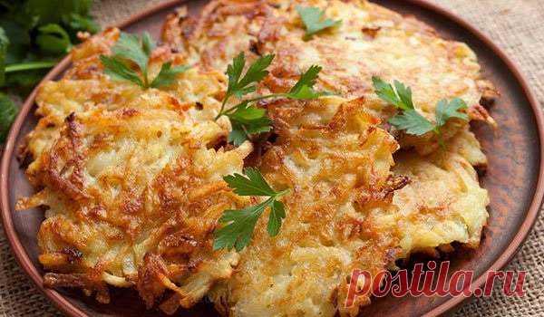 Как приготовить картофельные драники. 6 рецептов  Как приготовить картофельные драники с фаршем, с грибами, с овощами. 6 рецептов приготовления драников на сковороде и в духовке. Технология и правила приготовления.