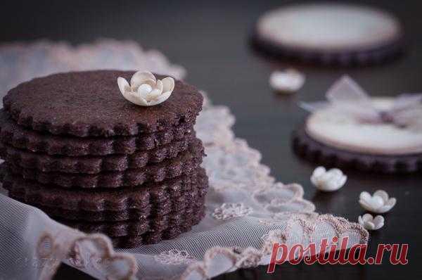 Готовим на желтках: Шоколадное печенье
