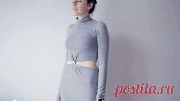 Переделка платья за 2 минуты / Платья Diy / Модный сайт о стильной переделке одежды и интерьера