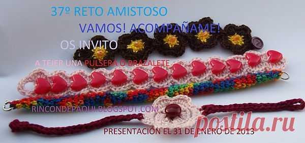 AMIGURUMIS AND CROCHET: 37º RETO AMISTOSO