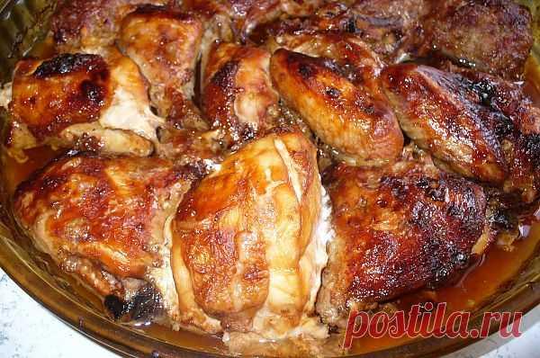 Кулинарная Академия Умных Хозяек: Барбекю из курицы.