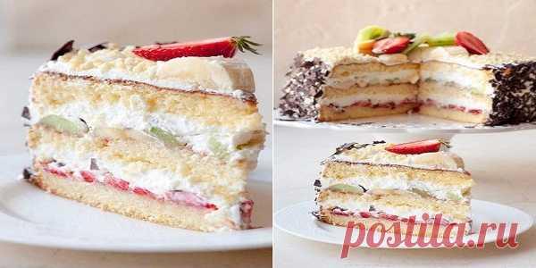 Великолепный торт  Сама нежность картинка