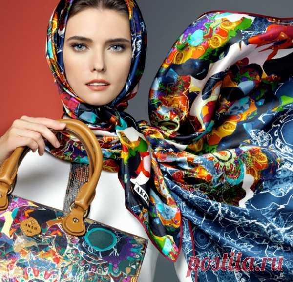 Легендарный аксессуар: Шелковый платок