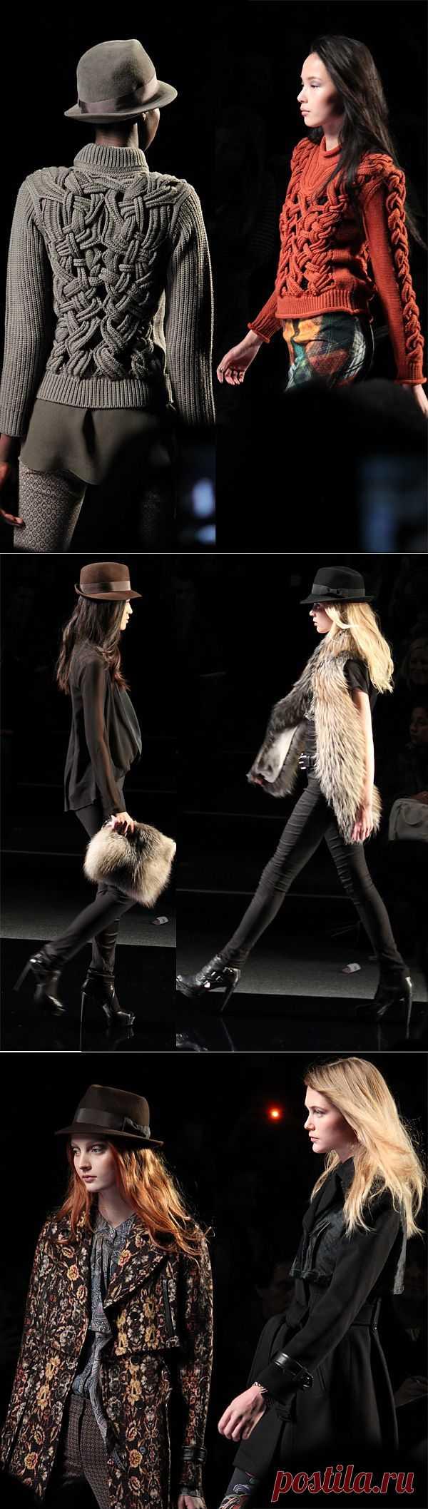 Nicole Miller fall/winter 2013 / Дизайнеры / Модный сайт о стильной переделке одежды и интерьера