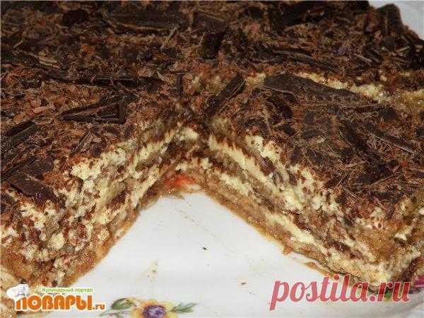 Semifreddo - Ледяной миндальный торт. Автор: kalina 15 конкурс - итальянской кухни - Кулинарный форум ПОВАРЫ.РУ