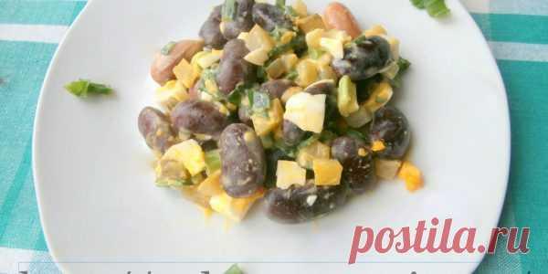 салат с фасолью — Ешь и худей без усилий
