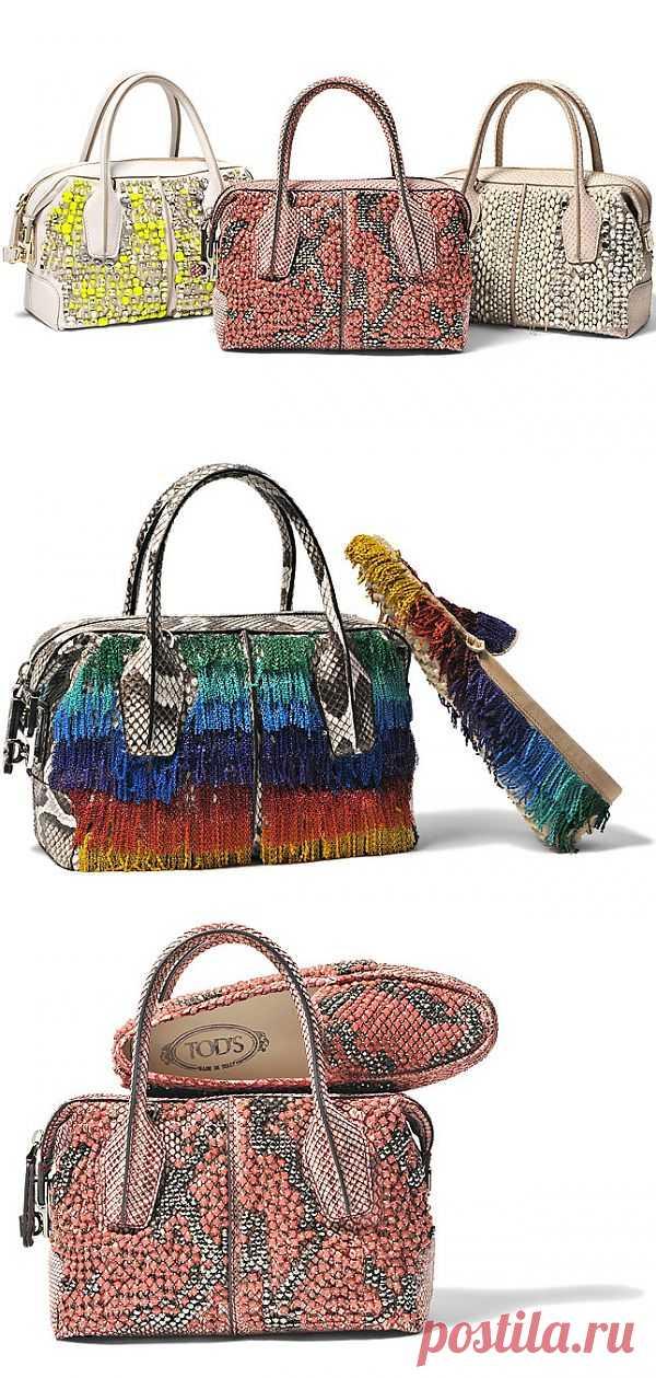 Колекция Tod's «Couture» (трафик) / Детали / Модный сайт о стильной переделке одежды и интерьера