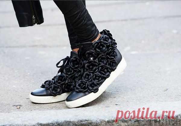 Цветы Chanel / Обувь / Модный сайт о стильной переделке одежды и интерьера