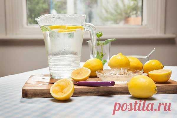 20 вещей, которые ваше тело не может сделать, если вы не пьете лимонную воду. Первое, что вы должны выпивать утром! - Советы на каждый день
