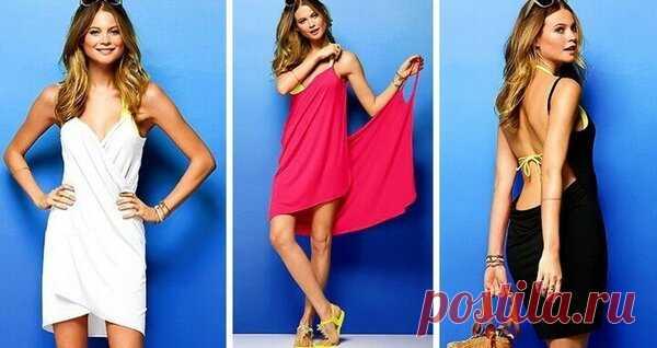 💃 5 способов сшить платье без выкройки своими руками | 33 Поделки | Яндекс Дзен