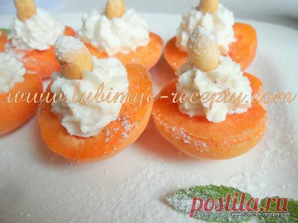 Венгерский десерт — абрикосы с творогом, мёдом, орехами и корицей | 4vkusa.ru
