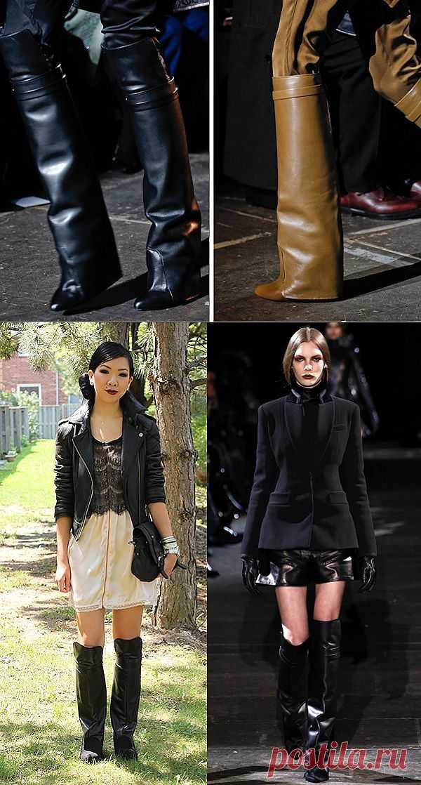 Повтор сапог Givenchy FW2012 RTW runway (DIY) / Обувь / Модный сайт о стильной переделке одежды и интерьера