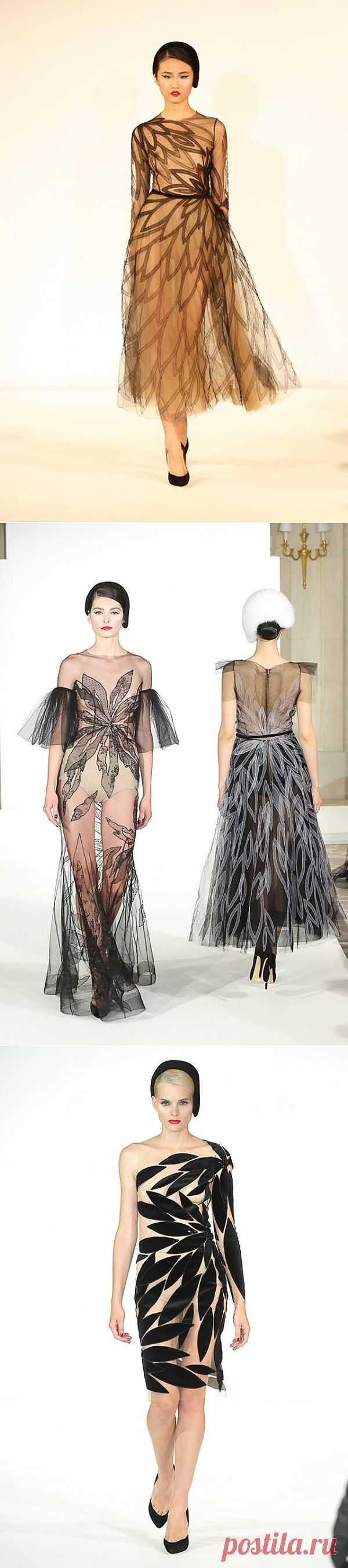 Yanina Haute Couture fall winter 2014 / Дизайнеры / Модный сайт о стильной переделке одежды и интерьера