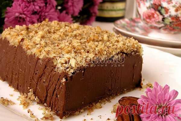 Итальянский шоколадный десерт. Рецепт от Ольги Ч