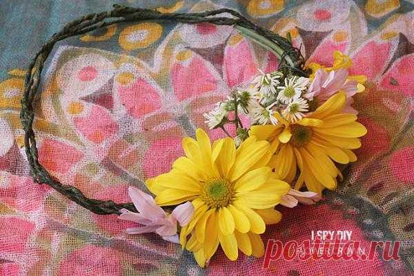 Встречаем весну- плетем венок