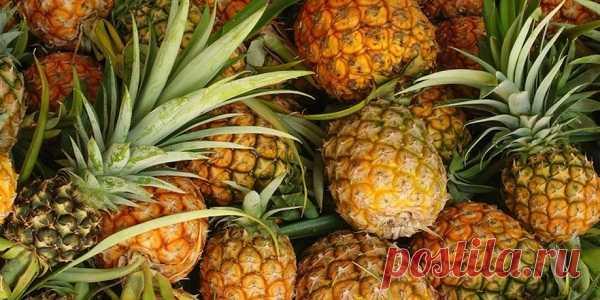 Вот 16 причин для употребления ананаса - Стильные советы