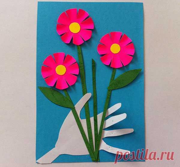 Прикольные картинки, открытки детский сад на 8 марта